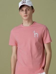 HAZZYS哈吉斯男款T恤