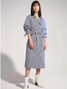 IMMI女装条纹连衣裙