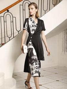 例格优雅连衣裙