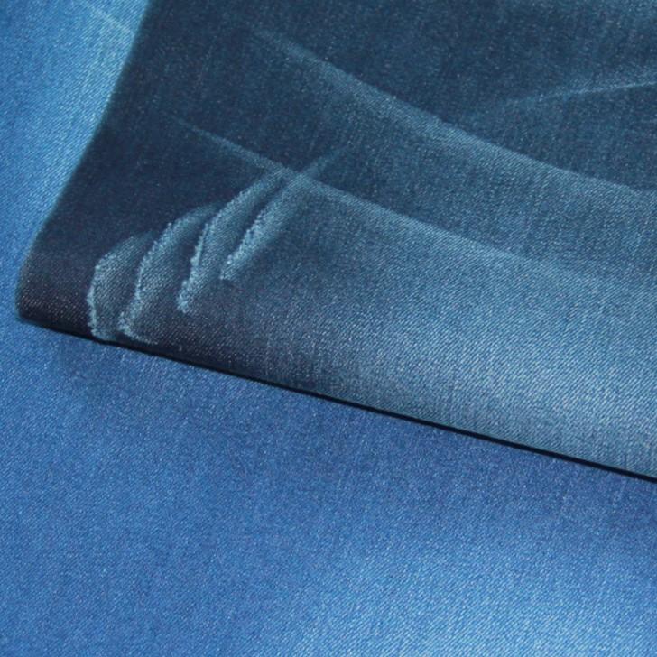 棉彈牛仔布高彈力牛仔褲面料