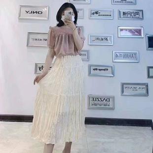 杭州品牌女裝尾貨折扣走份批發夏裝女裝一手貨