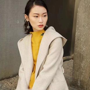 杭州CHIUSHUI秋水伊人20冬装品牌女装折扣尾货批发供应