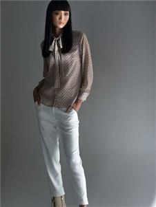 斐格利亚白色长裤