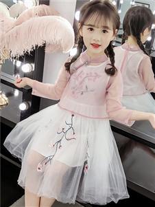 杰米熊女童时尚裙子