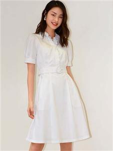 歌莉娅女装歌莉娅2020新款衬衫裙