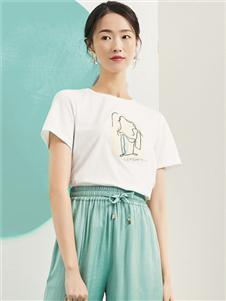 海贝女装I′HAPPY海贝夏装T恤