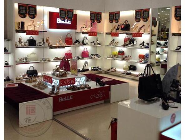 百丽女鞋店铺图
