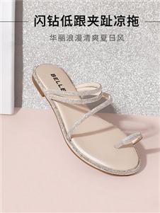 百丽夏新款凉鞋