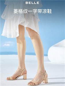 百丽新款凉鞋