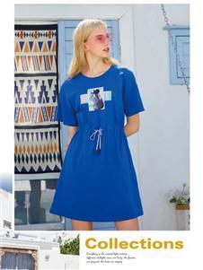 十八淑女坊女装十八淑女坊夏季体恤裙