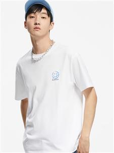 卡宾男装卡宾新款白色T恤