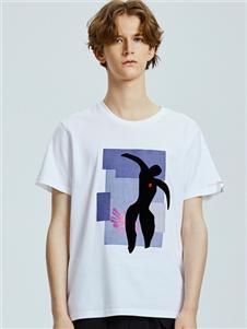 马克华菲夏季时尚新款T恤