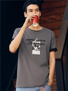 马克华菲气质百搭时尚T恤