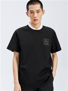 马克华菲圆领时尚T恤