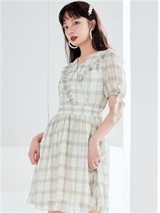 金苑女装新款连衣裙