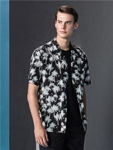 安正男装夏短袖衬衫