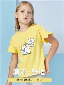ABCKIDS童装ABC潮流圆领T恤