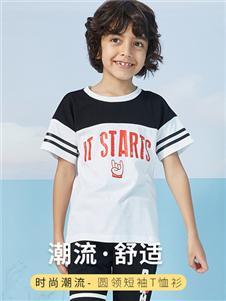 ABCKIDS童装ABC圆领短袖T恤