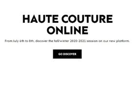 巴黎时装周公布完整日程,已与多家社交媒体平台达成合作协议