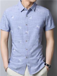 啄木鸟男装啄木鸟夏季时尚衬衫