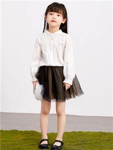 马拉丁童装马拉丁白色衬衫