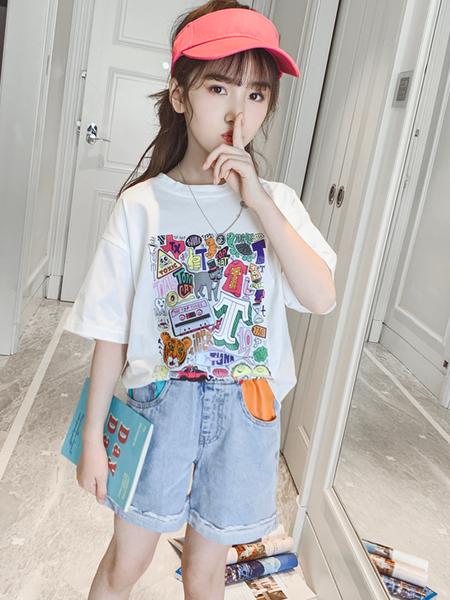 兔子杰罗短袖T恤