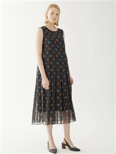 玛丝菲尔女装玛丝菲尔时尚连衣裙