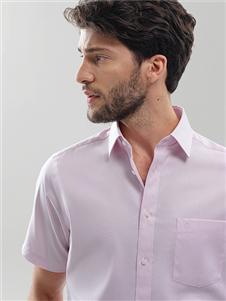 金利来男装金利来粉色衬衫