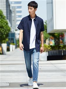 杉杉男装杉杉男装短袖衬衫