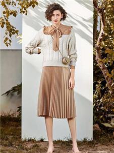秋熠女装秋熠百褶裙