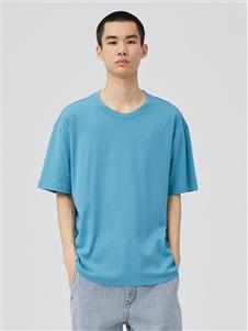 单农圆领T恤