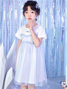 迪士尼宝宝童装迪士尼宝宝女童夏款连衣裙