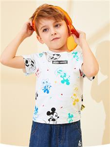 迪士尼宝宝童装迪士尼宝宝男童可爱T恤