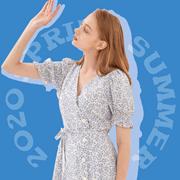 ELAND依恋今夏必备连衣裙,直击少女心