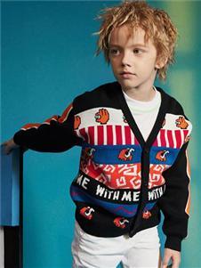 马骑顿童装马骑顿针织外套