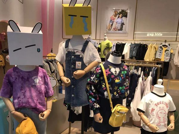 gxg童装店品牌旗舰店店面