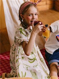 五月童品女童连衣裙