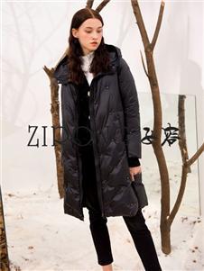 ZIRONG子容黑色羽绒服