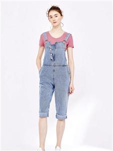 纷漫女装纷漫女装新款背带裤