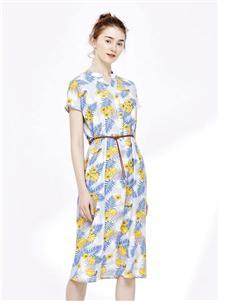 纷漫女装纷漫夏季印花裙