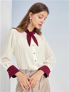 三彩女装三彩2020秋衬衫