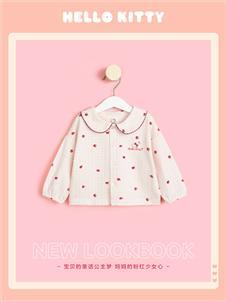 Hello Kitty女童早秋可愛上衣