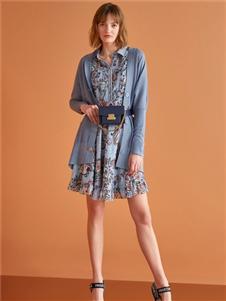 XG雪歌新款连衣裙