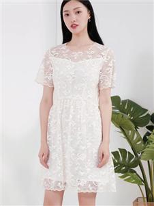 兰卡芙新款连衣裙