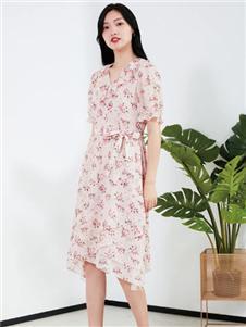 兰卡芙女装新款连衣裙