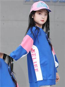 玛玛米雅童装玛玛米雅蓝色卫衣