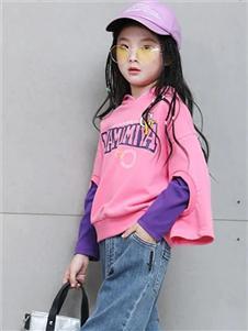玛玛米雅童装玛玛米雅粉色卫衣