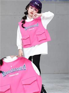玛玛米雅童装玛玛米雅粉色外套