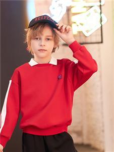 卡儿菲特童装卡儿菲特男童秋卫衣