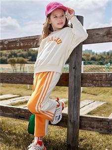 莉莉日记运动裤套装